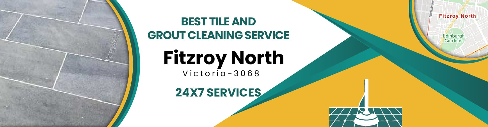 Tile & Grout Cleaning Fitzroy North
