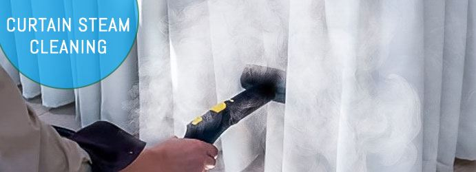 Curtain Steam Cleaning Indented Head