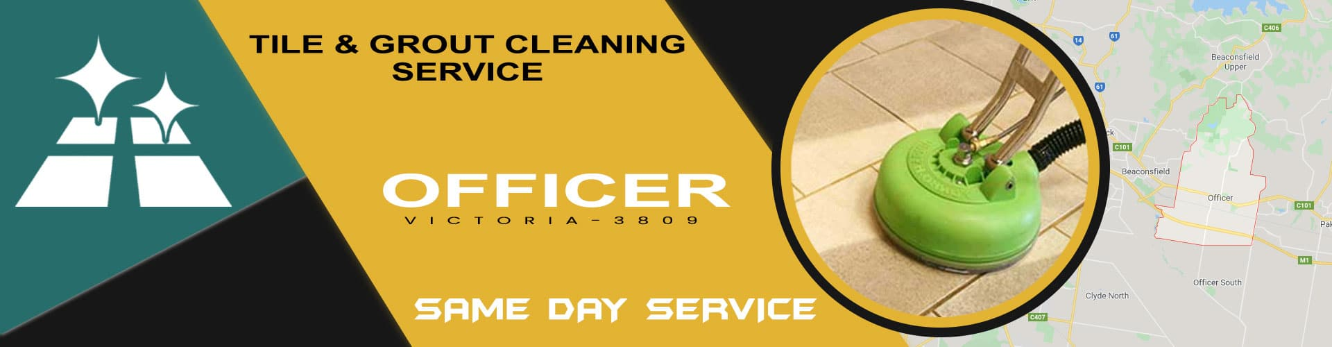 Tile & Grout Cleaning Officer