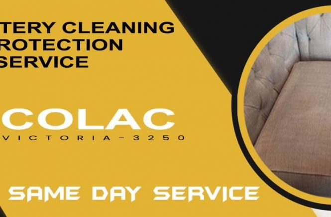 Upholstery Cleaning & Protection Colac