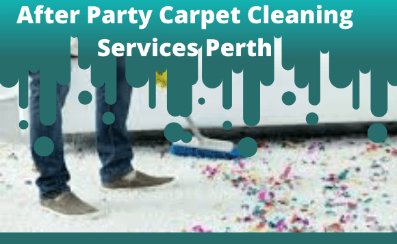 After Party Carpet Cleaning Services