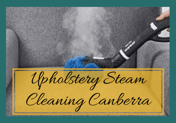 Upholstery Steam Cleaning Canberra